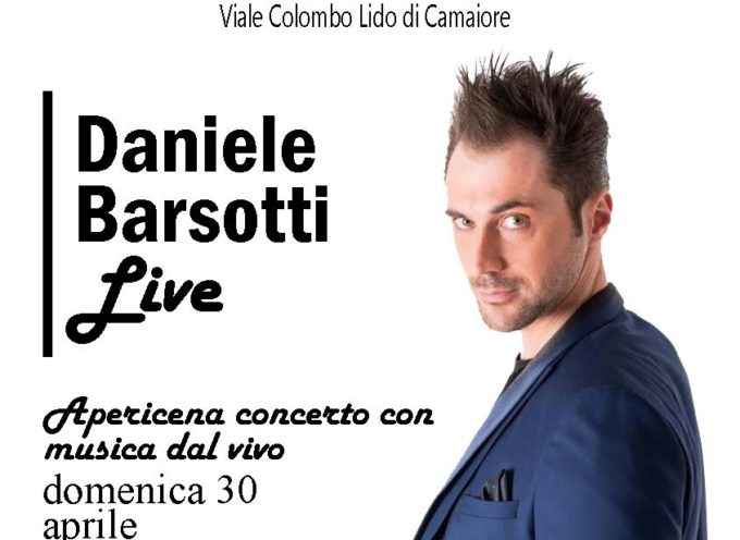 SERATA EVENTO DI DANIELE BARSOTTI: LIVE E REGISTRAZIONE DEL DISCO ALL'HAPPY DAYS