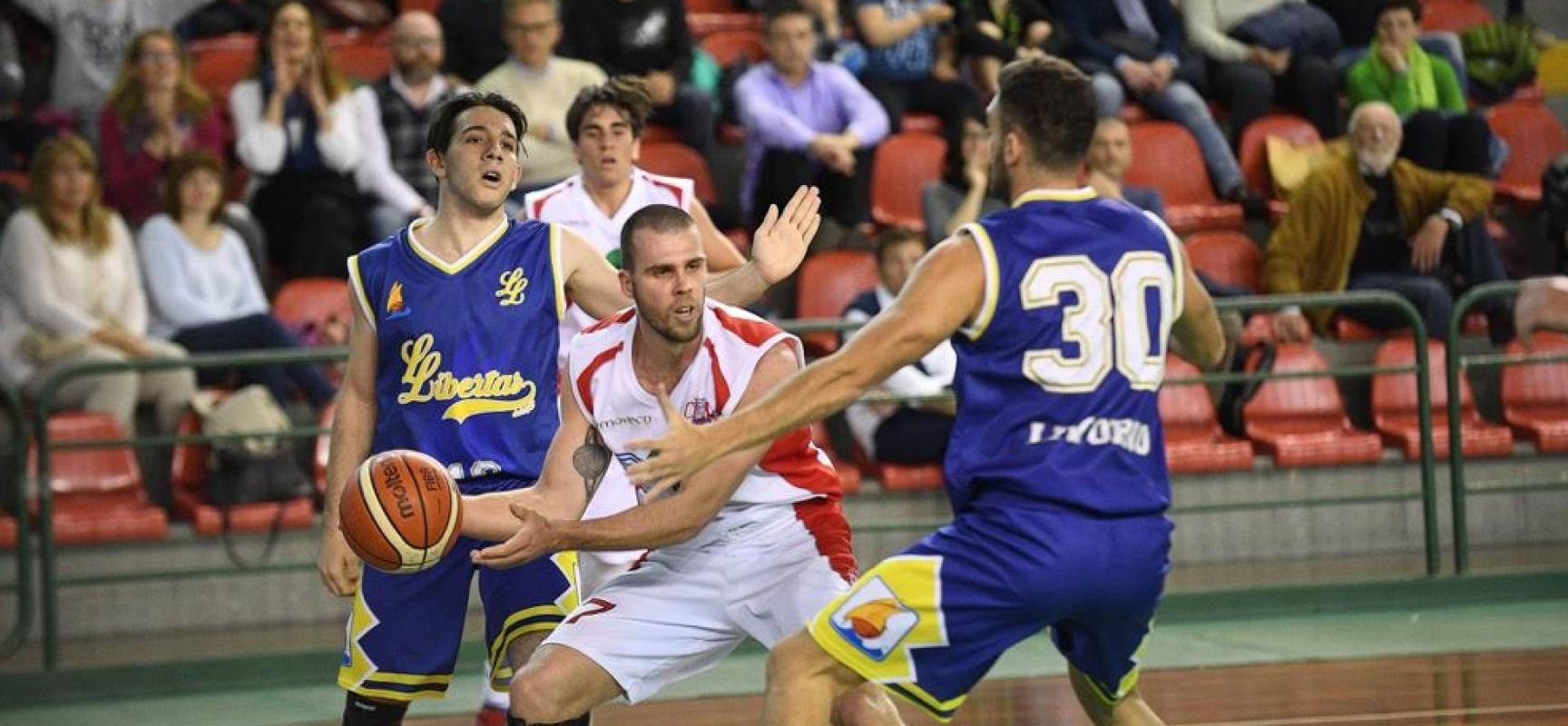 La Geonova sconfitta in casa dalla Libertas Livorno all'esordio nei playoff