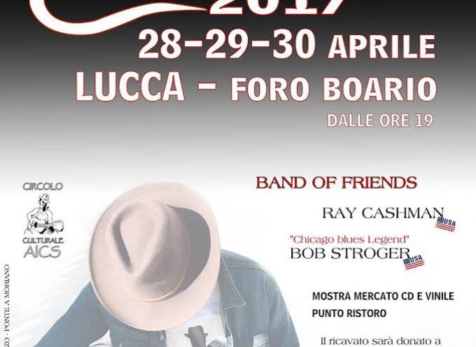 lucca –  Dal 28 al 30 aprile torna il Lucca Blues Festival