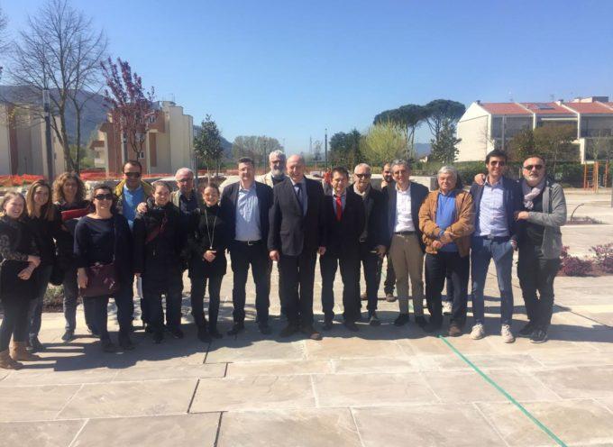 LUCCA – Appartamenti di edilizia pubblica , nuova piazza e spazi verdi attrezzati: ecco il nuovo Quartiere Giardino