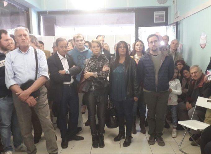 Tanta gente per l'inaugurazione della sede di Lucca in Movimento, una delle due liste civiche per Remo Santini Sindaco
