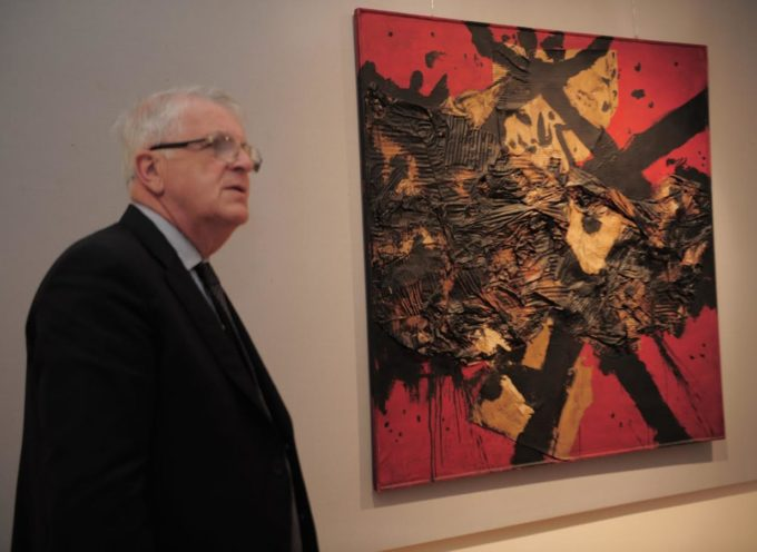 Arturo Carmassi alla Fondazione Banca del Monte di Lucca La mostra resta aperta nei giorni di Pasqua e Lunedì dell'Angelo