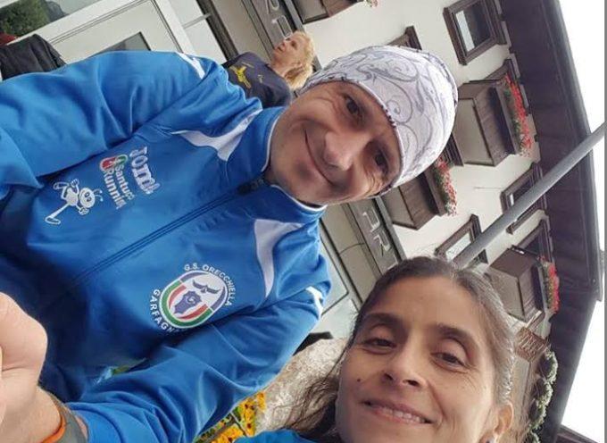 Coppia nello sport e nella vita: Damiano Lippi e Andrea Salas  (G.S. Orecchiella) brillano alla maratona di Padova