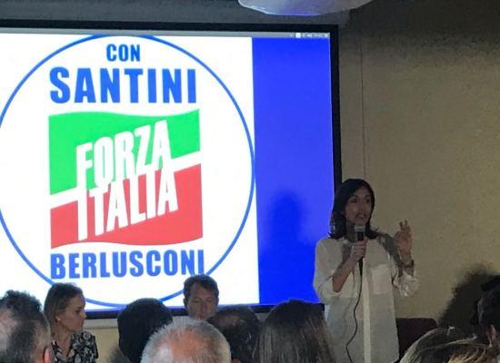 """Carfagna, Bergamini, Centemero  (Forza Italia) """"Con Santini , a Lucca, finalmente una vera politica di parità per le donne"""""""