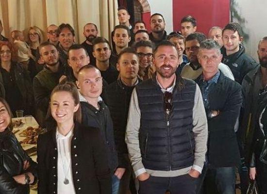 CasaPound: inaugurato il comitato elettorale con Fabio Barsanti