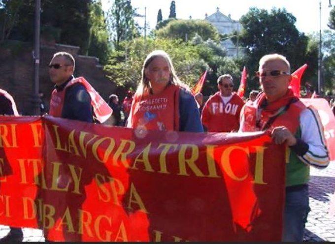 Dura dichiarazione del coordinatore nazionale Fiom Massimo Braccini.