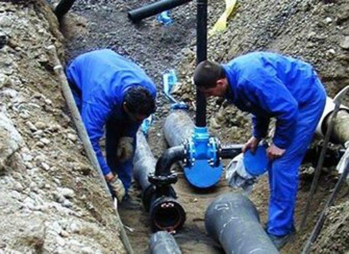 Lavori di manutenzione sull'impianto dell'acquedotto che serve la frazione Tereglio del Comune di Coreglia Antelminelli