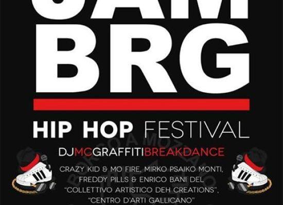 JAM BRG .. Hip Hop Festival .. A BORGO A MOZZANO