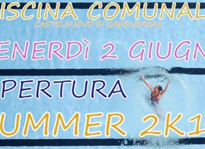 CASTELNUOVO DI GARFAGNANA Venerdì 2 giugno apertura piscina comunale