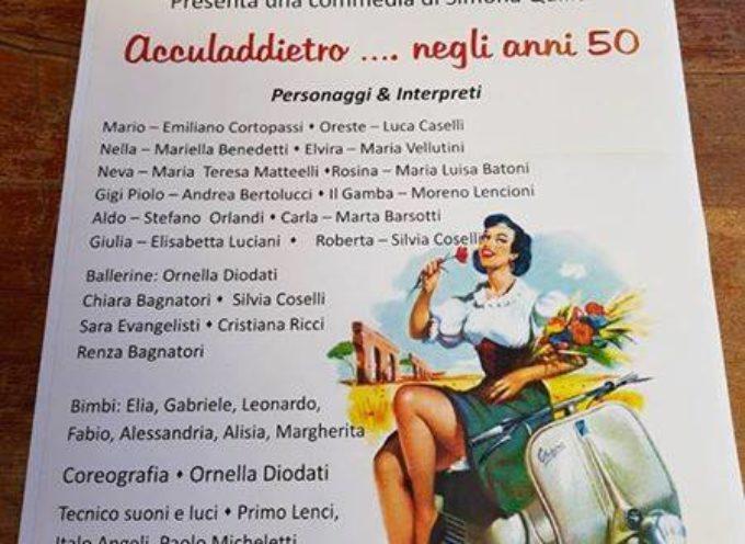 """La compagnia """"Un Prato"""" al Teatro Bambi di Coreglia ..  domenica 4 giugno  ore 21"""