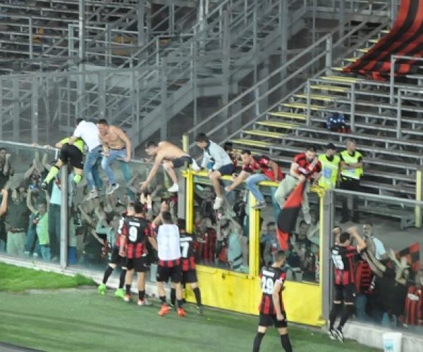 Albinoleffe 0 Lucchese 0 La Lucchese accede ai quarti di finale play off