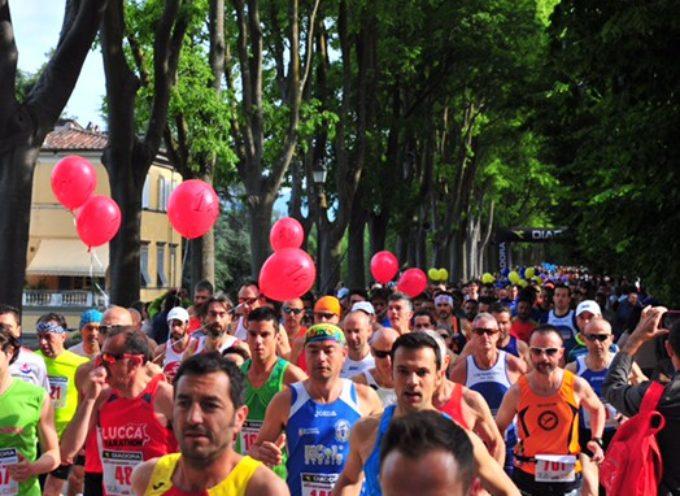 Meno 4 alla Half marathon di Lucca , ecco il percorso