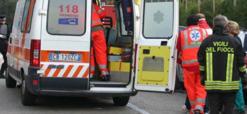 INCIDENTE FRONTALE IN LOCALITA' ACQUABONA