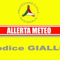 ALLERTA CODICE COLORE GIALLO – per RISCHIO IDROGEOLOGICO