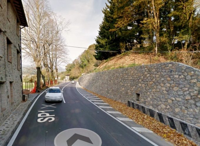 VIABILITA': SULLA SP 1 FRANCIGENA (via per Camaiore), IN LOCALITA' BOLLORE,  sara ampliata la curva