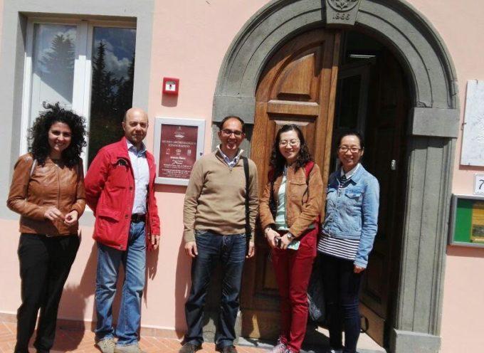 CAPANNORI – DUE DELEGAZIONI IN VISITA ALL'EDIFICIO LIGNEO DEL FRIZZONE