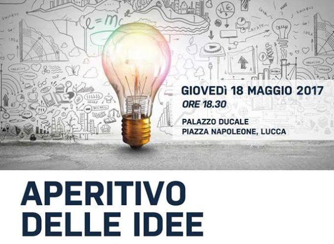 GIOVEDI' 18 MAGGIO A PALAZZO DUCALE IL SECONDO 'APERITIVO DELLE IDEE' CON GIORGIO BARTOLI