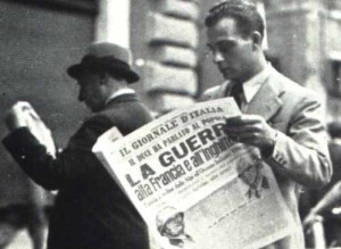 accadde oggi – Ore 18 del 10 Giugno 1940, l'Italia entra in guerra!