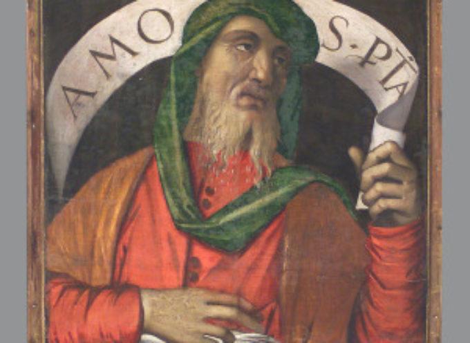 Il Santo del giorno, 15 Giugno: il Profeta Amos, un idealista! voleva infatti sconfiggere le tante ingiustizie che fanno parte, purtroppo! della vita dell'uomo!