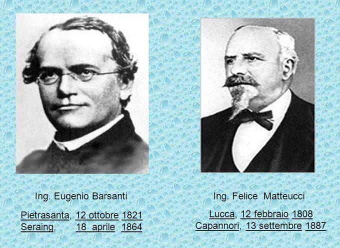 Se l'auto ha fatto passi da gigante lo si deve ad una coppia di 'inventori Lucchesi, Barsanti e Matteucci, gli inventori.