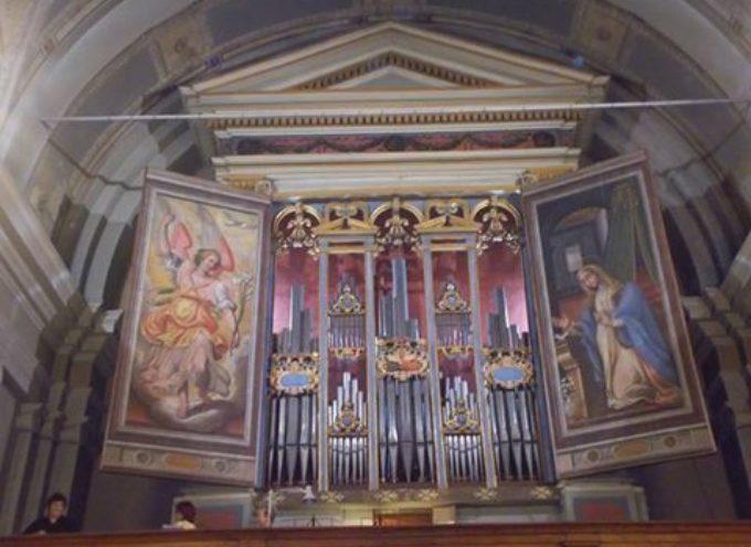 Lo stupendo organo della chiesa di S.Michele a Corsanico