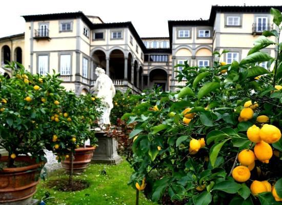 Lucca – Palazzo Pfanner e giardino.