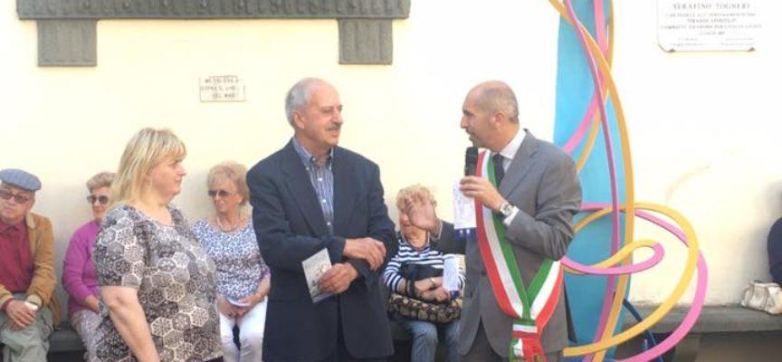 Inaugurazione della mostra di Pegonzi a Coreglia Antelminelli