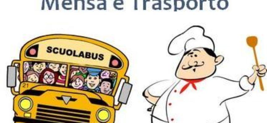 ISCRIZIONI SERVIZI MENSA E TRASPORTO A.S. 2017-2018, a castelnuovo di g.
