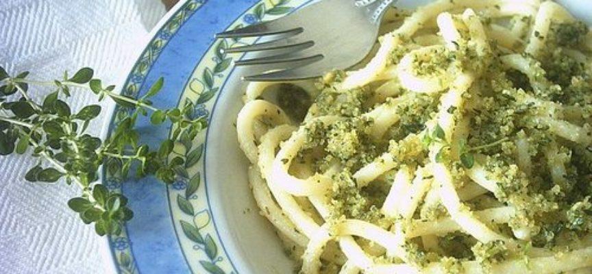 la ricetta della pasta alle erbe aromatiche