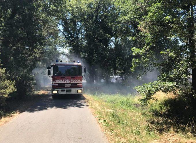 Montecarlo – Poggio Baldino secondo, principio di incendio