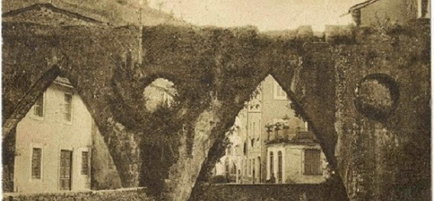 Gallicano: Il canale irrigatorio e i vessilli… smerdati di Francesco V
