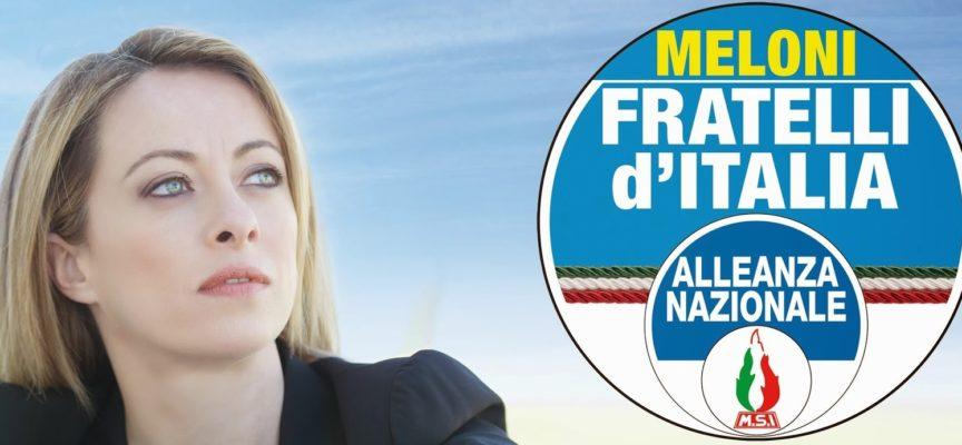 Giorgia Meloni a Lucca per Remo Santini sindaco e a sostegno di Fratelli d'Italia