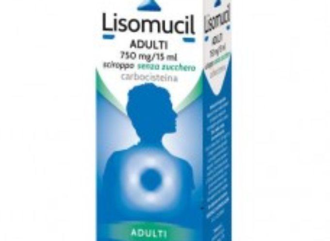 Famoso sciroppo per la tosse ritirato dalle farmacie. Lotti specifici di LISOMUCIL ritirati da Sanofi