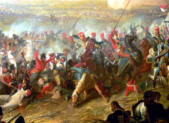 Accadde oggi, 18 Giugno 1815:  LA SCONFITTA DI NAPOLEONE  a Waterloo!