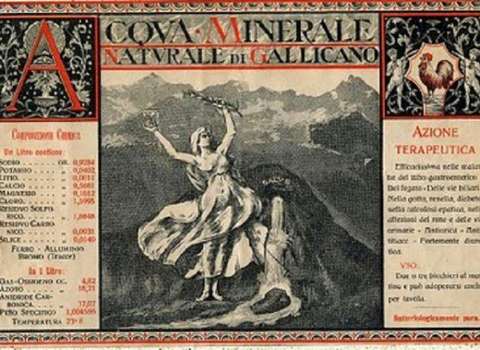 Era il 1916,la prima acqua minerale in bottiglia di tutta la Garfagnana