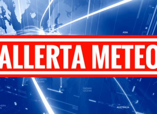 LA REGIONE HA EMESSO L'ALLERTA METEO ARANCIO PER TUTTA LA PROVINCIA PER MERCOLEDI' 28 GIUGNO