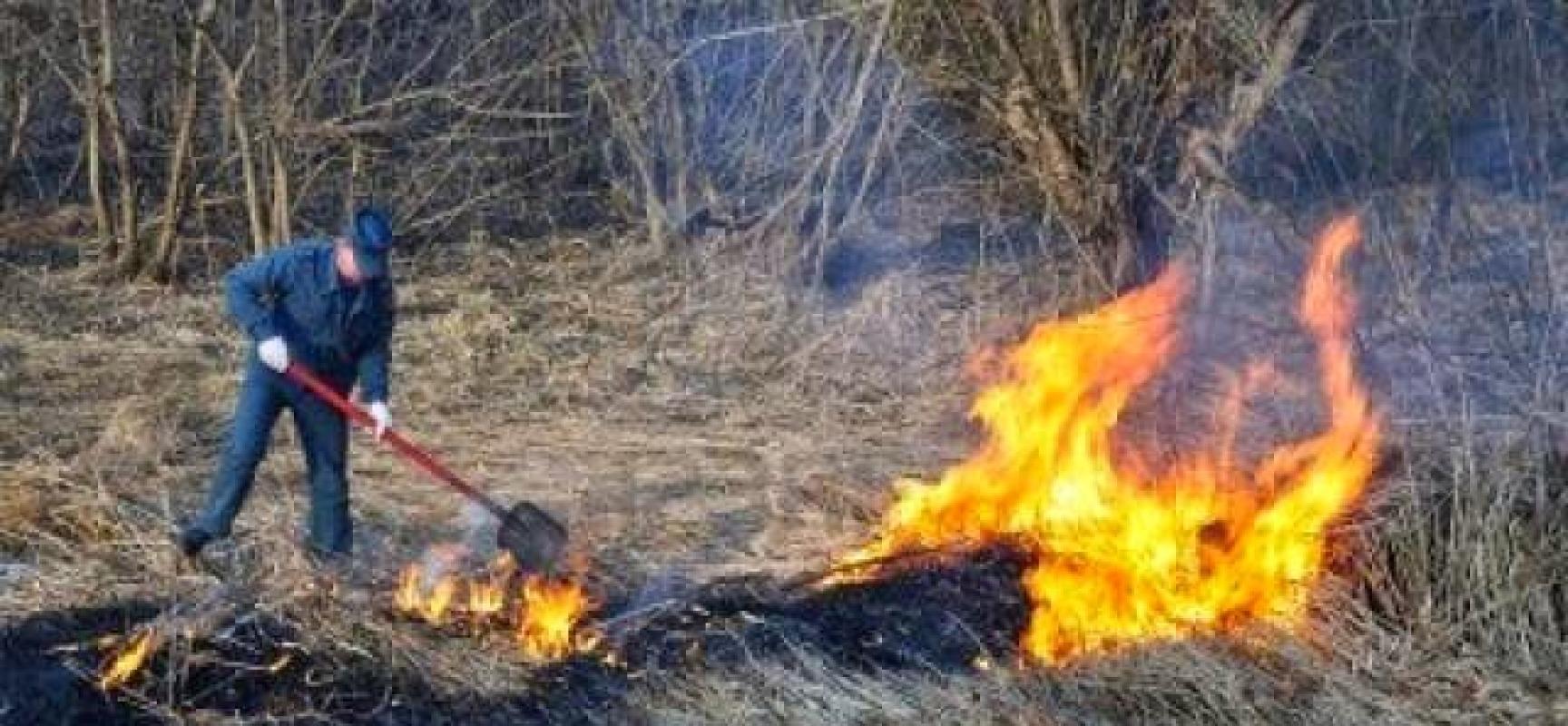 Rischio incendio boschivo, la Regione anticipa il divieto di abbruciamento