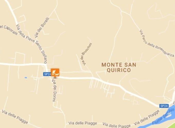 LUCCA: la via di S. Alessio, a Monte S. Quirico, chiusa al transito lunedì 3 e martedì 4 luglio per lavori di estensione della rete fognaria