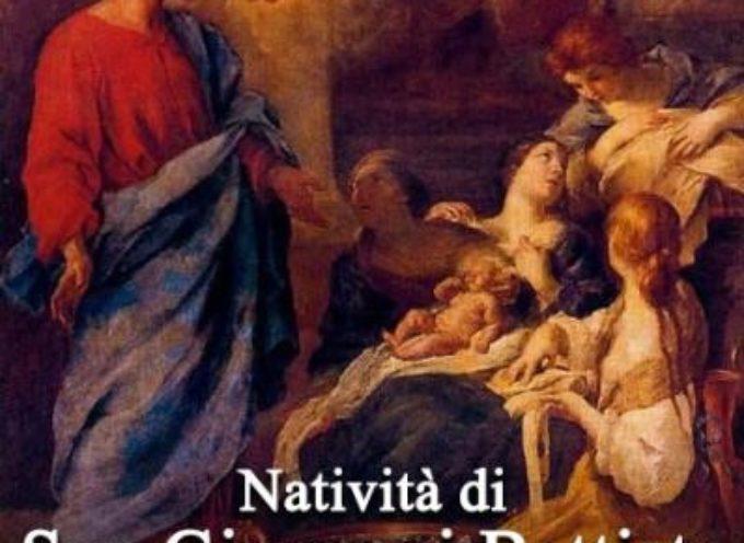 il santo del giorno, 24 giugno, natività di san giovanni battista