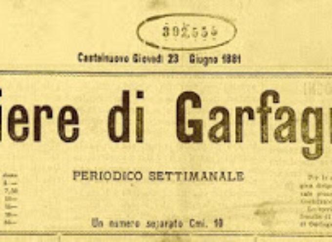 """Il più vecchio giornale di tutta la Garfagnana: dal 1881 """"Il Corriere di Garfagnana"""".Ecco chi erano i pionieri del giornalismo nella valle"""