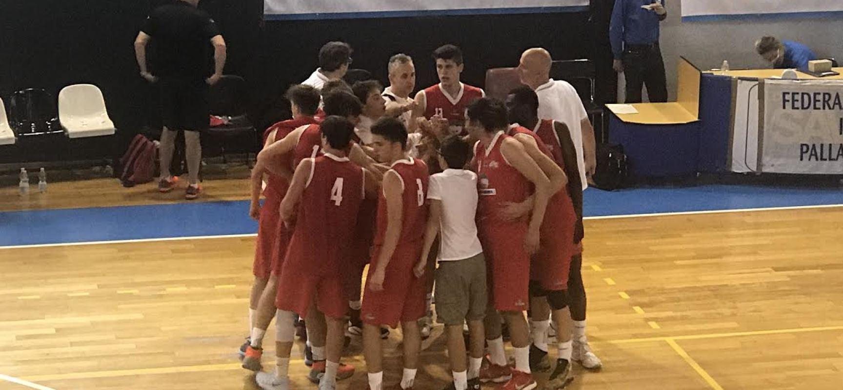 La Lombardi Lucca sconfitta dall'Olimpia Milano alle finali nazionali Under 18