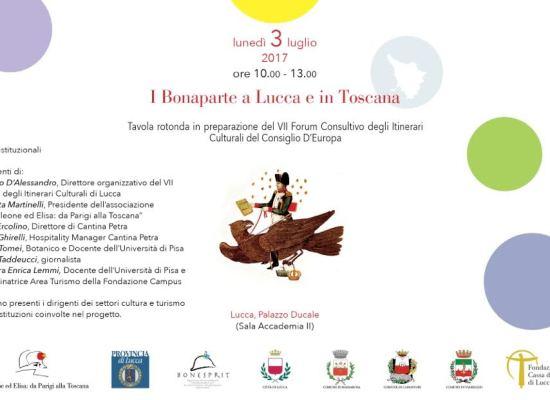 I Bonaparte a Lucca e in Toscana fra storia, turismo ed enologia