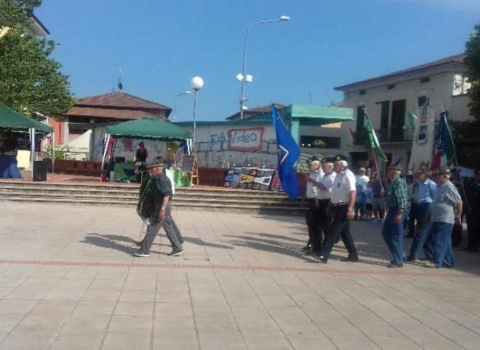 Il 2 giugno festeggiato a Fornaci di Barga, con tantissima gente nonostante il caldo