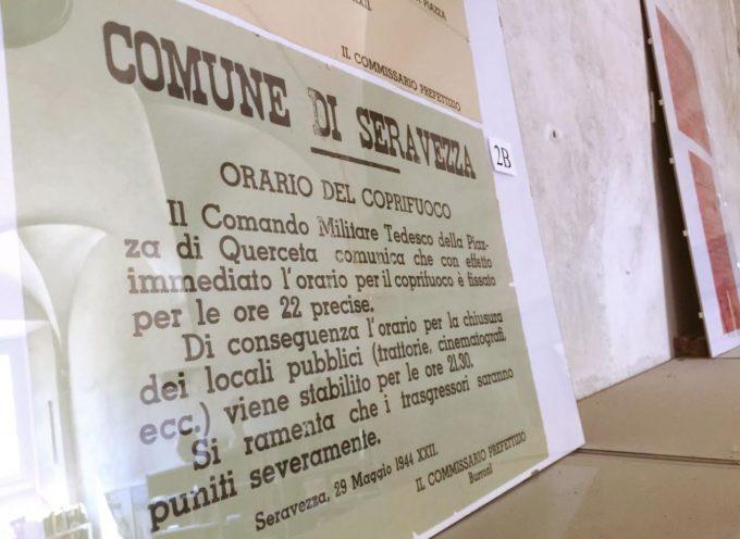 AL MEDICEO di SERAVEZZA, LA MOSTRA SUI MANIFESTI D'EPOCA ABBINATA AL MEMOFEST