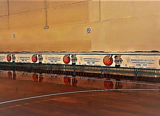 Il PalaSuore di Porcari ospita dal 1° all'8 luglio una nutrita serie di  partite dei mondiali di Maxibasket Fimba