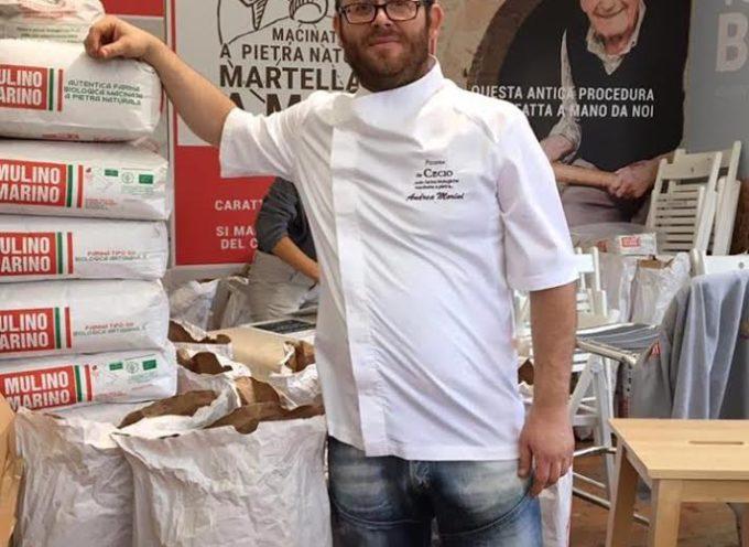 """LUCCA – Sperimentazione e tradizione: alla pizzeria """"Da Cecio"""" arriva la farina di Enkir, il grano più antico al mondo"""