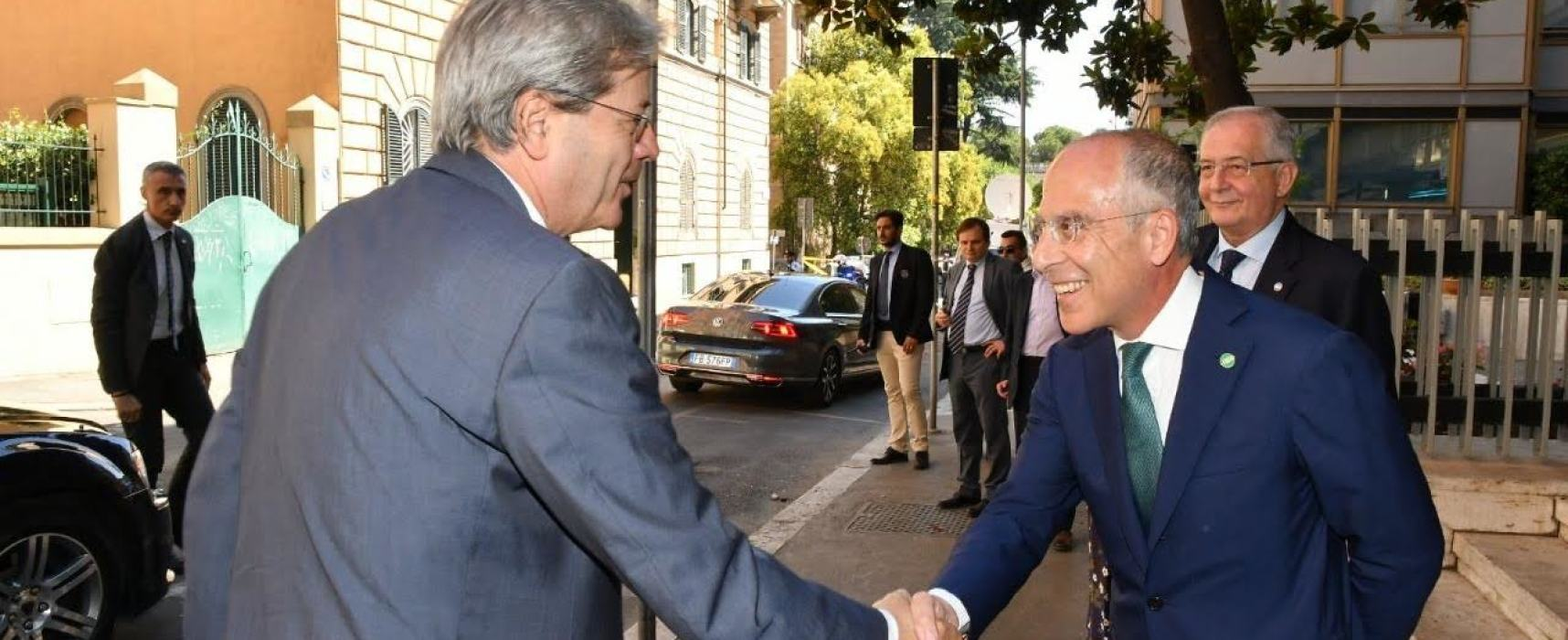 ENEL INCONTRA IL PRESIDENTE DEL CONSIGLIO PAOLO GENTILONI E PRESENTA OPEN METER, IL CONTATORE ELETTRONICO 2.0