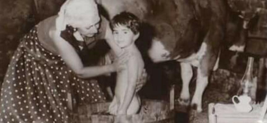 il bagno di una volta era cosiiii