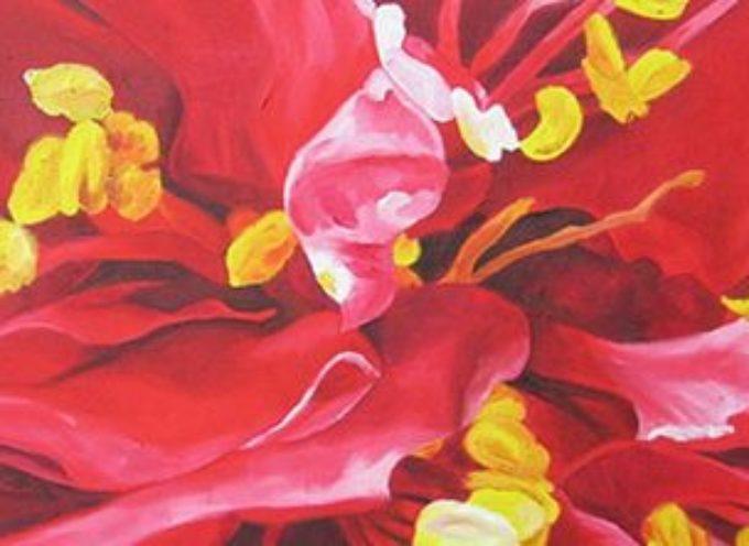 Mostra di pittura CUORE DI CAMELIE,  DOMENICA 16 LUGLIO alle ore 18 al Conservatorio Santa Elisabetta in Barga