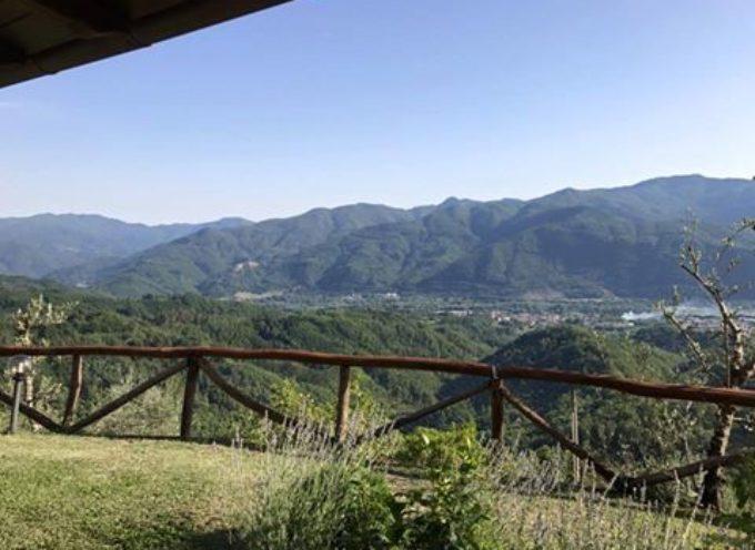 La nostra valle vista da COREGLIA ANTELMINELLI,